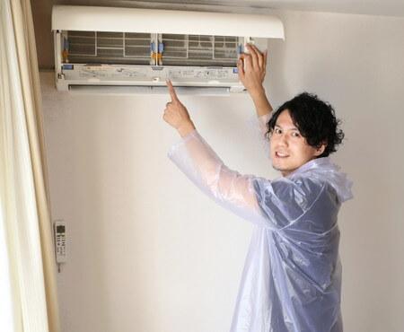 エアコン清掃
