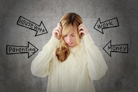 ストレス女性イメージ