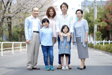 3世代家族01